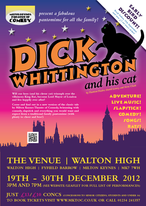 MKTOC Dick Whittington Poster