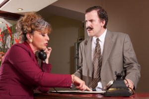 MKTOC - Fawlty Towers - reception