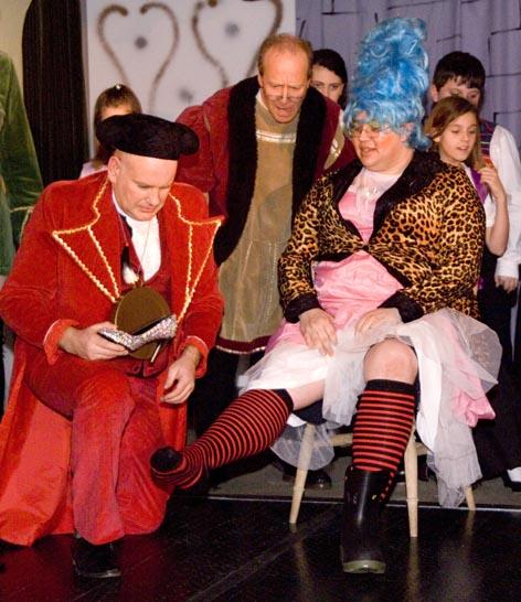 MKTOC Cinderella showfoot
