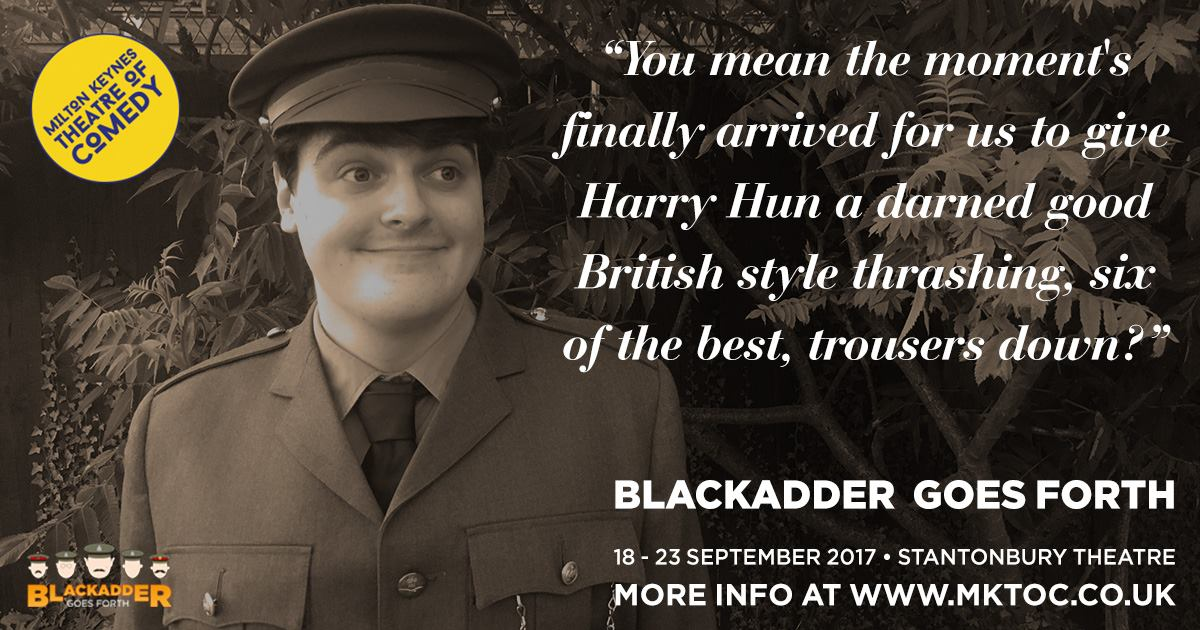 Blackadder Goes Forth MKTOC George