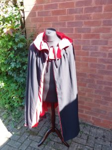 MKTOC Black and red cape
