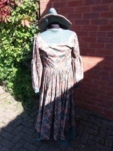 MKTOC Green Victorian Dress