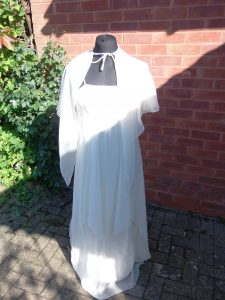 MKTOC White dress