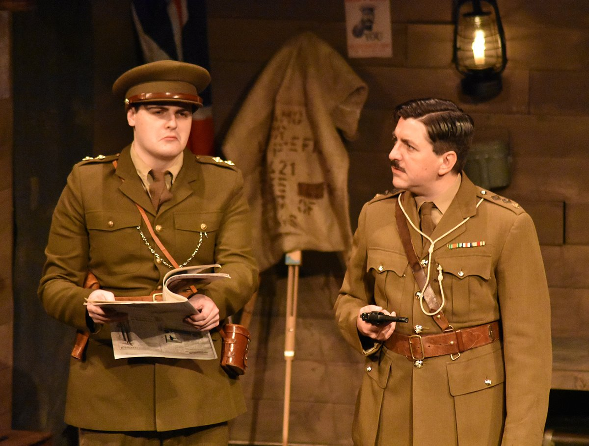 Blackadder Goes forth - King and country