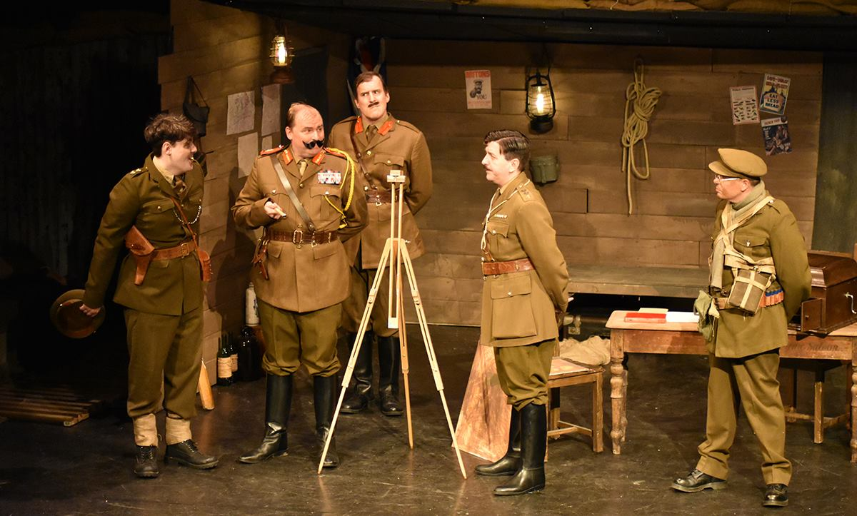 Blackadder Goes forth - General inspection