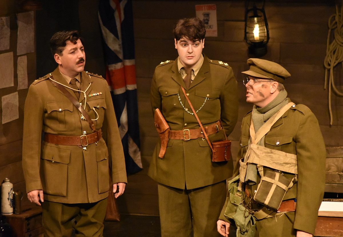 Blackadder Goes forth - Dugout