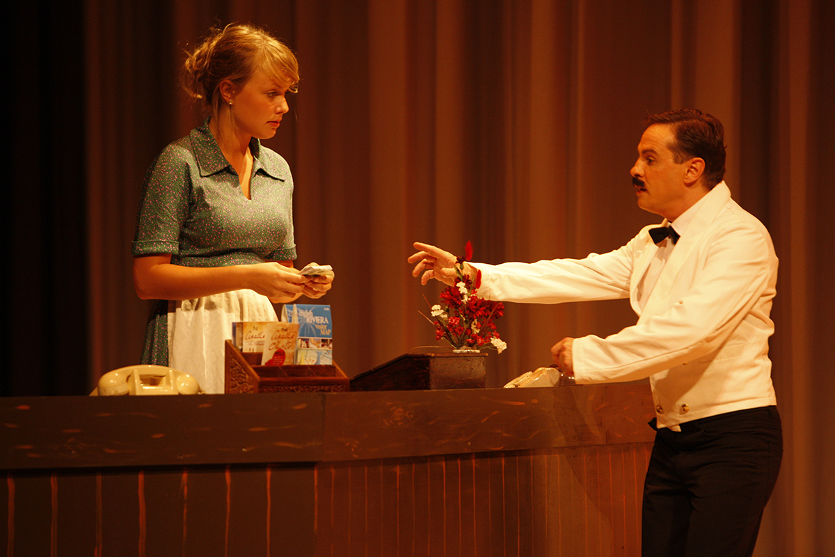MKTOC - Fawlty Towers: Polly and Manuel