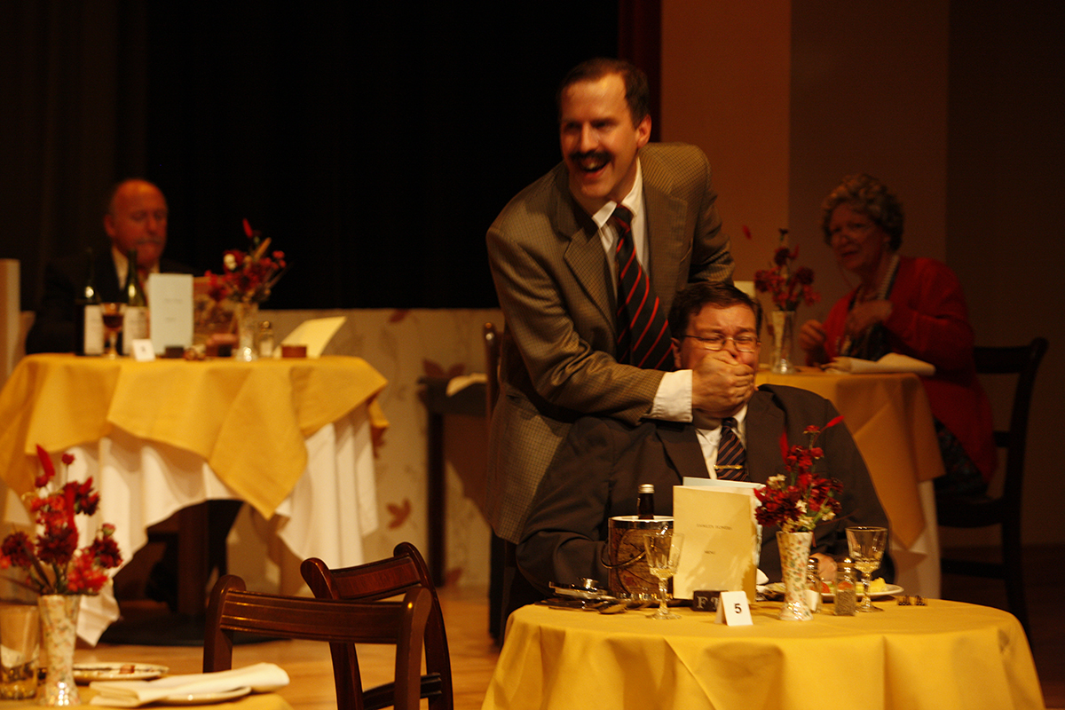 """MKTOC - Fawlty Towers: """"Bit of cheese stuck"""""""