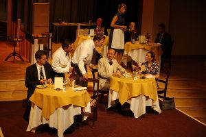 MKTOC - Fawlty Towers - The dining room