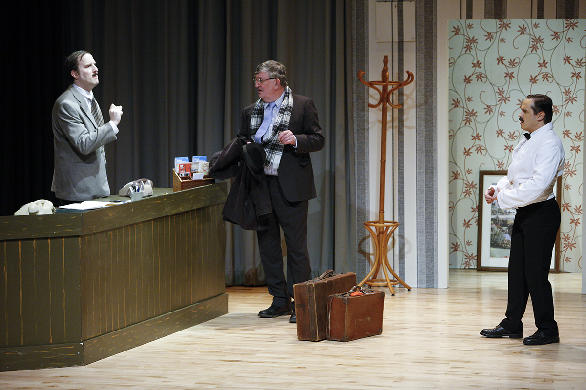 MKTOC - Return To Fawlty Towers -Lord Melbury arrives