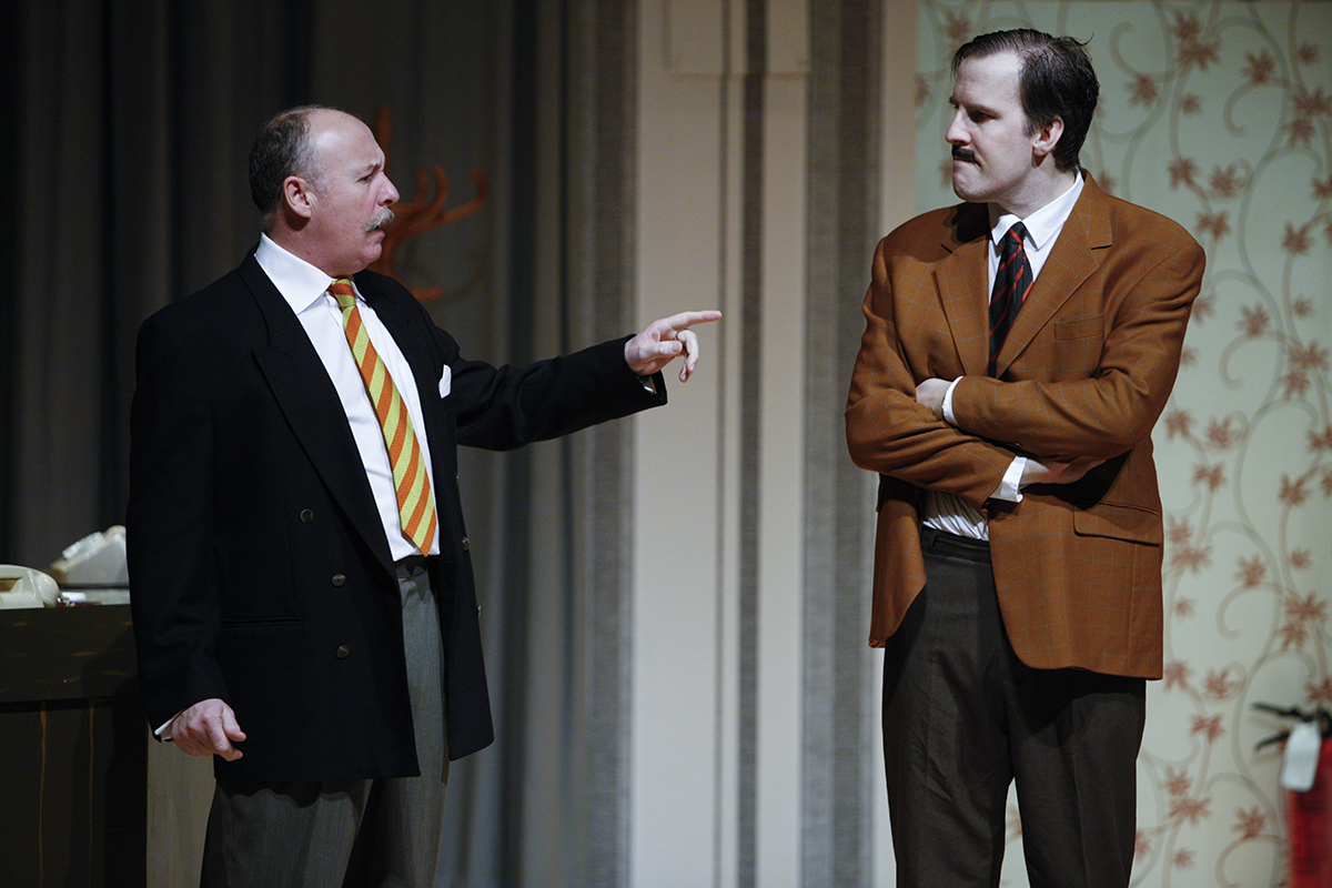 MKTOC - Return To Fawlty Towers - Basil and the Major