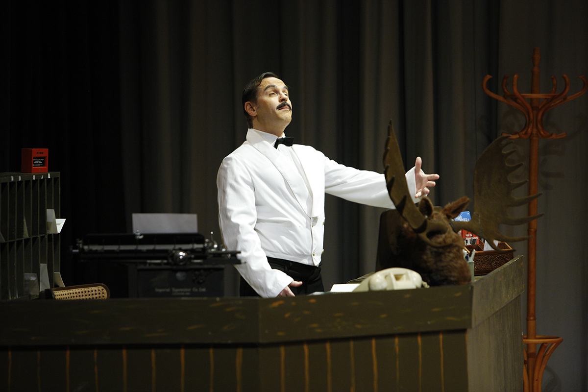 MKTOC - Return To Fawlty Towers - Manuel and his moose