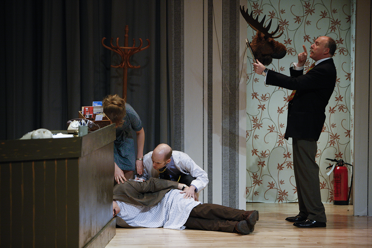 MKTOC - Return To Fawlty Towers - Naught moose!