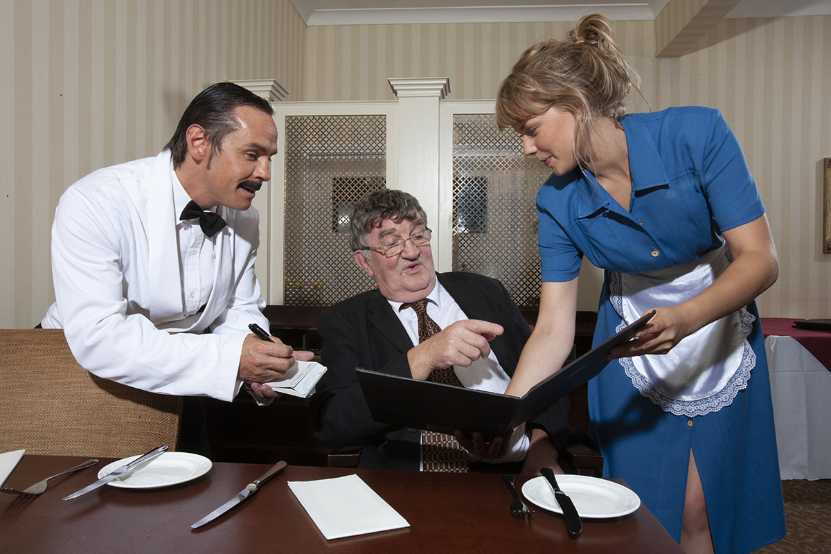 MKTOC - Fawlty Towers - Serving guests
